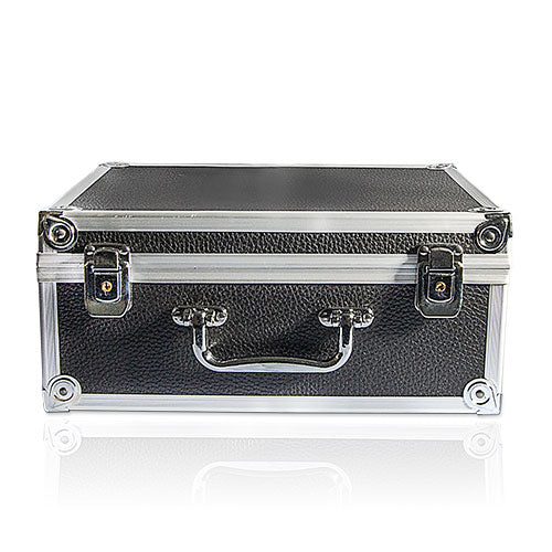 Small Black Aluminum Machine Case