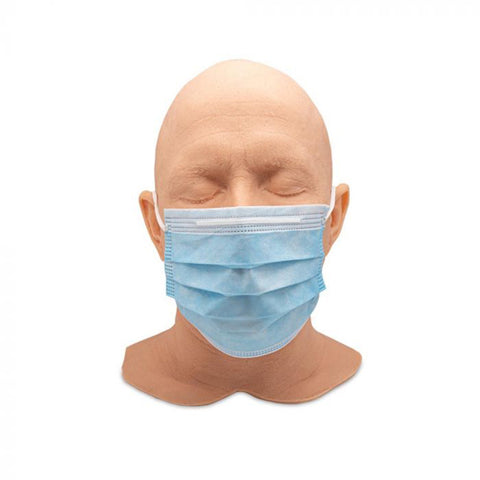 Saferly Blue Disposable Face Masks - Case of 900