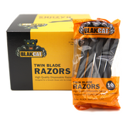 Blakcat Premium Twin Blade Disposable Razors