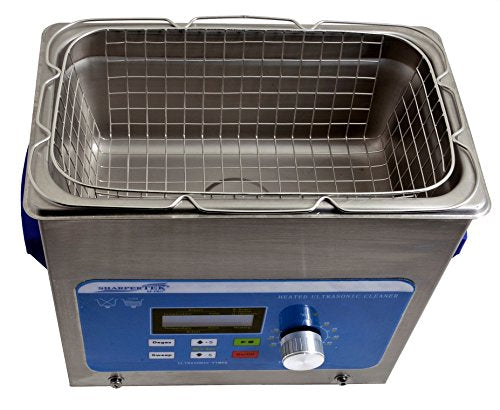 Sharpertek – 3 Quart Ultrasonic Cleaner w/ Basket