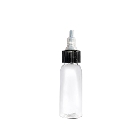 1 Oz. Clear Empty Tattoo Ink Bottles
