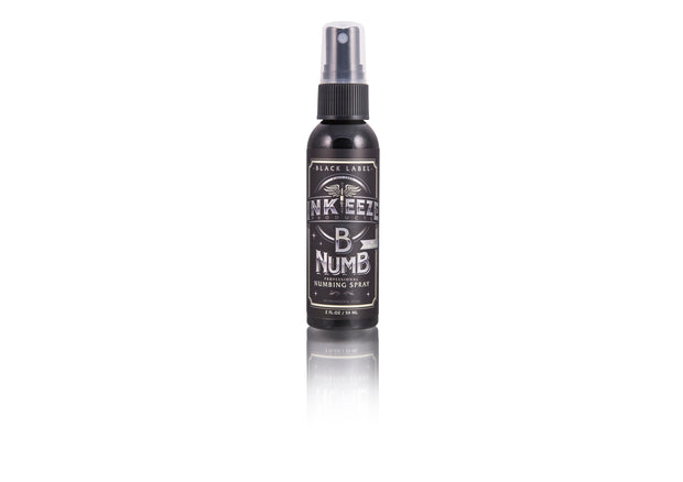 "INK-EEZE B Numb Numbing Spray ""Black Label"""