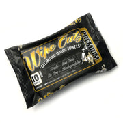 Wipe Outz - Dry-Black Sterilized Tattoo Towels - 10 Count