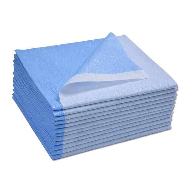 "Drape Sheets  -  Blue - 40"" x 90"""