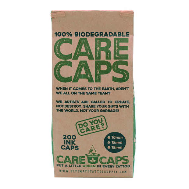 Care Caps - Biodegradable Ink Caps - 200/Bag