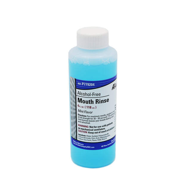 Mouth Rinse - Alcohol Free - 4oz. Bottle
