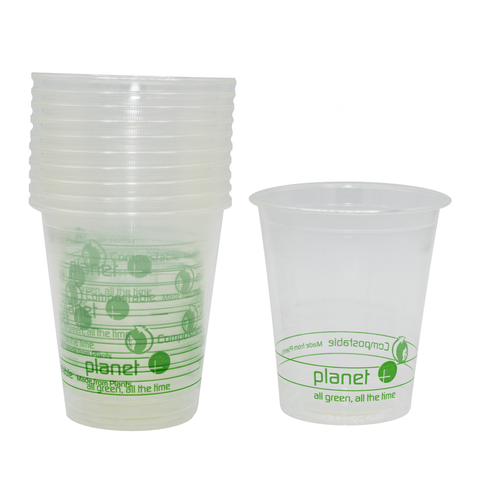 Eco-Friendly Compostable Rinse Cups - 7oz.