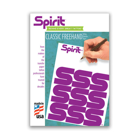 "Spirit Classic Freehand Stencil Paper - 8 1/2"" X 11"""