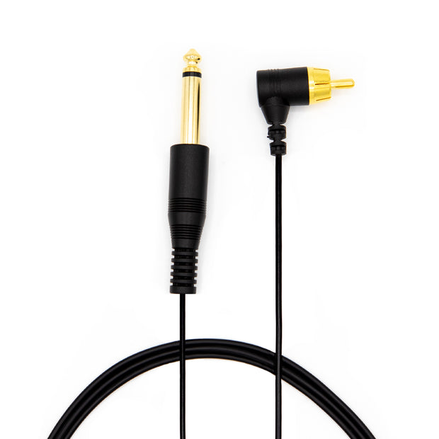 Lightweight RCA right Angle Power Cord - Black