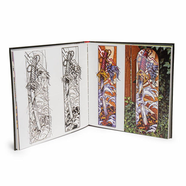 De Nada: The Art of Jeral Tidwell - Hardback Book