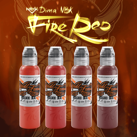 Dima NBK Fire Red Set
