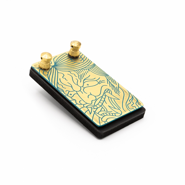 USA STRIKE Brass Foot Switch - Hannya