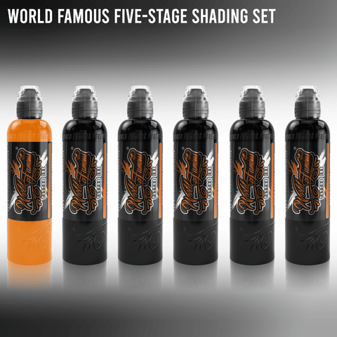 World Famous Five-Stage Shading Set