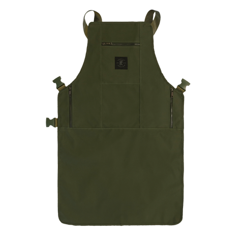 Knife & Flag Non-Porous Core Apron – Green