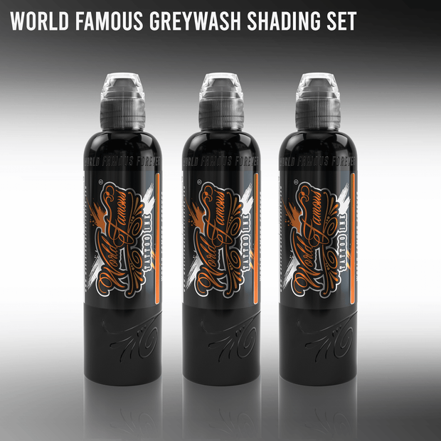 World Famous 3 Bottle Grey Wash Set