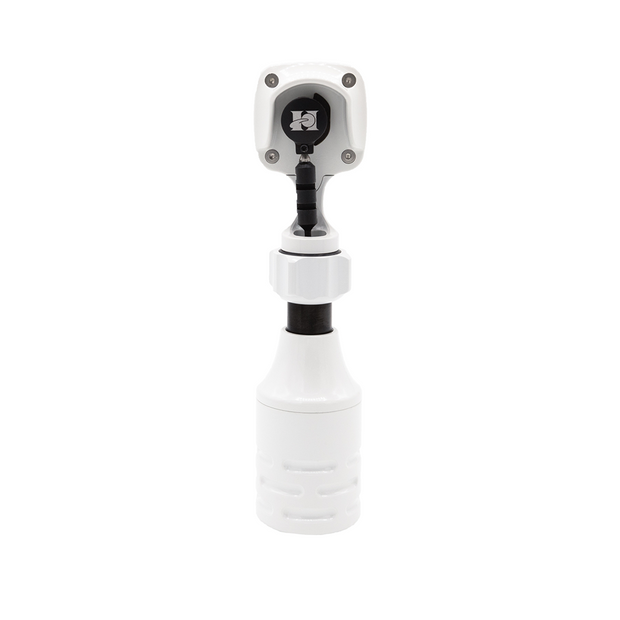 "Lithium Mini Rotary w/ 1"" Grip - White"