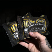 Wipe Outz - Dry-Black Sterilized Tattoo Towels