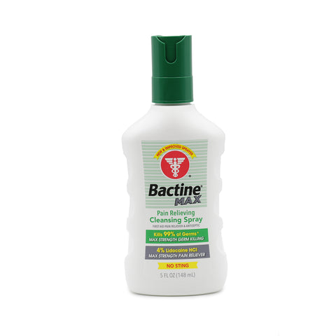 Bactine MAX - 5oz Spray Bottle