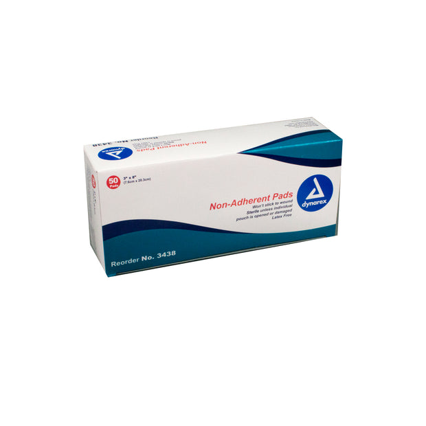 "Non-Adherent Sterile – Pads – 3"" x 8"""