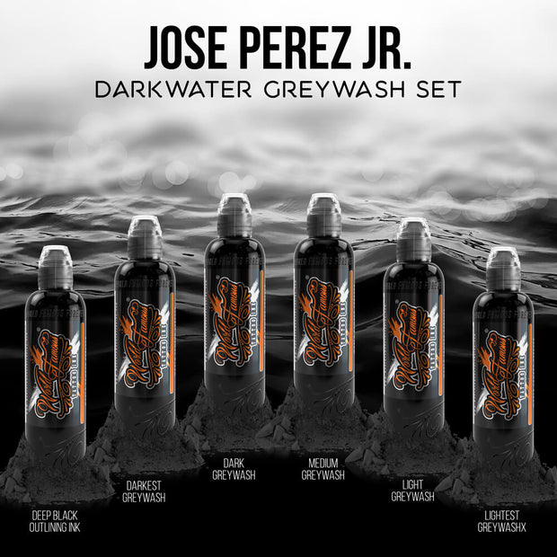 Jose Perez Jr. Darkwater Shading Set - 4oz Bottles