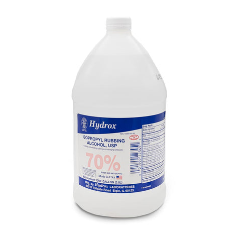 Alcohol 70% Isopropyl - 1 Gallon 128oz.