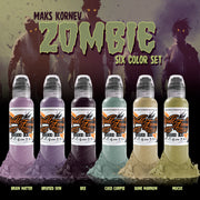 Maks Kornev's Zombie Color Set