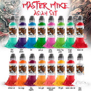 Master Mike Asian Tattoo Set