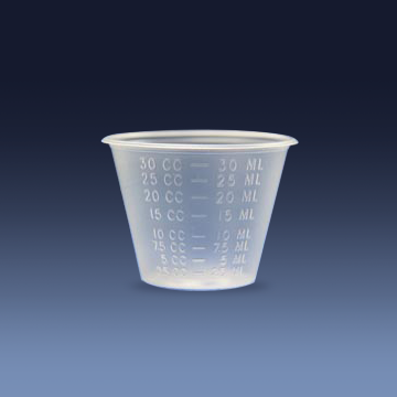 MEDICINE CUPS - 1OZ - GRADUATED