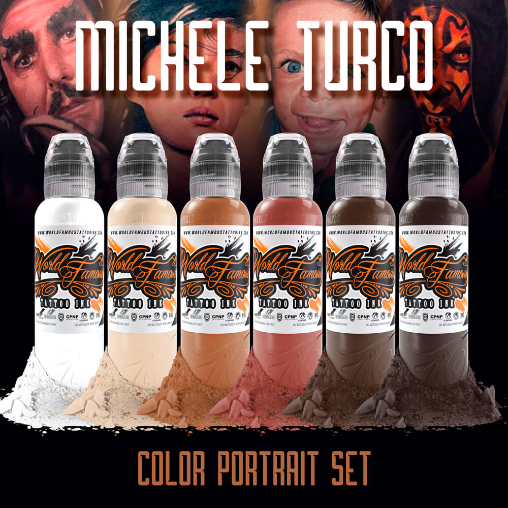 Michele Turco Color Portrait Set