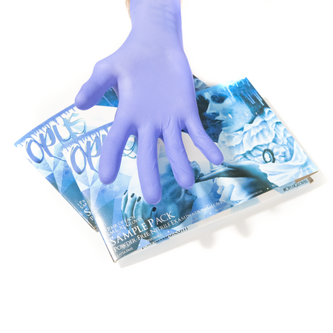 Opus Blue Nitrile Exam Gloves PF - Multi Pack