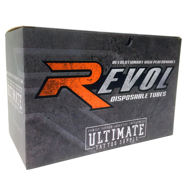 "Revol Disposable Tubes - 1.25"" Grip - Large Magnum Tip"