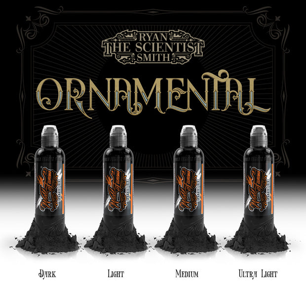 Ryan Smith - Ornamental Ink Set