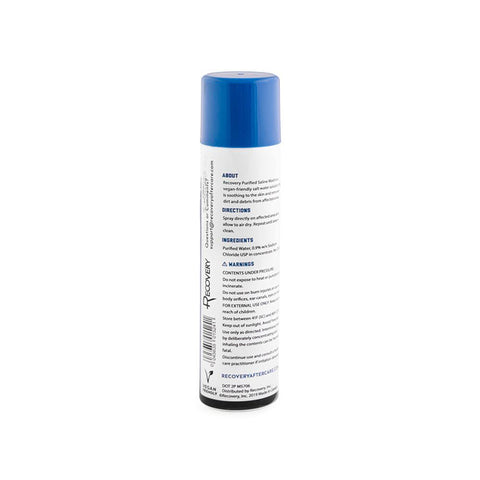 Recovery Purified Saline Wash Solution - 6oz. Spray Can