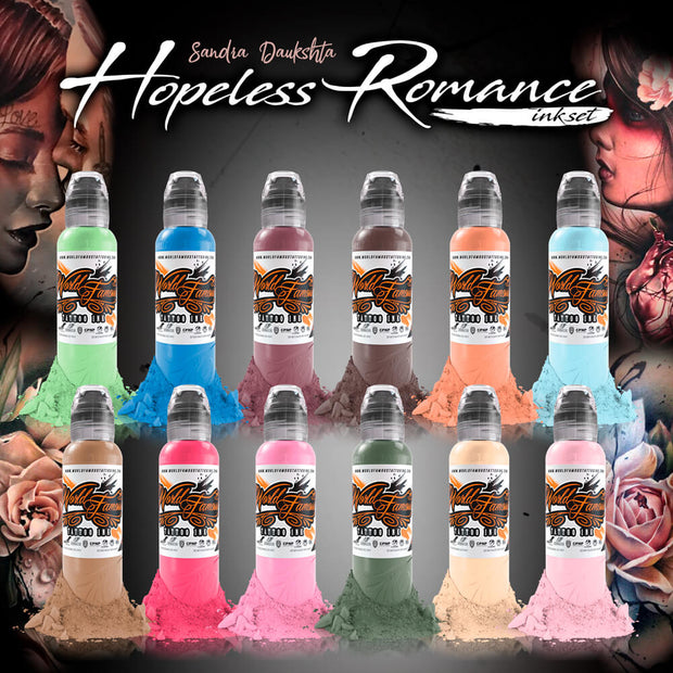 Sandra Daukshta Hopeless Romance Ink Set