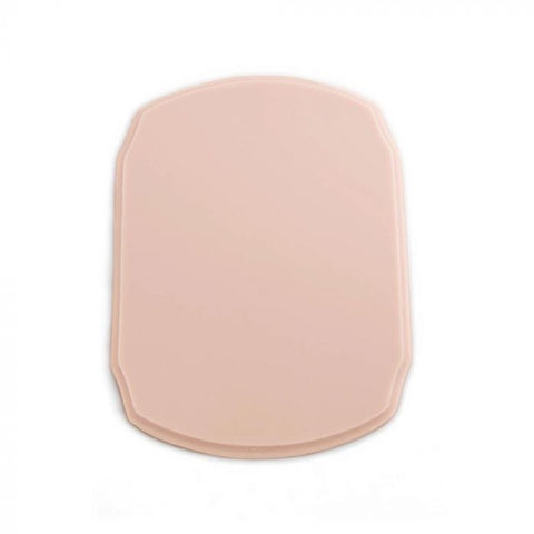 A Pound of Flesh Tattooable Rounded Plaque — Pink Tone