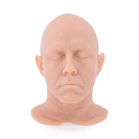 A Pound of Flesh Shrunken Tattooable Synthetic Idol Head — Jesse Smith