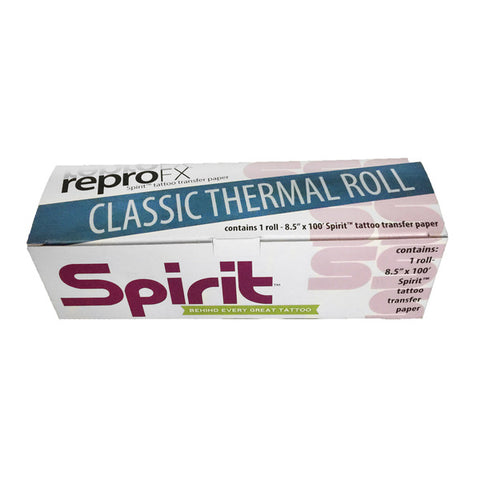 Spirit Classic Thermal Paper - 100' Roll