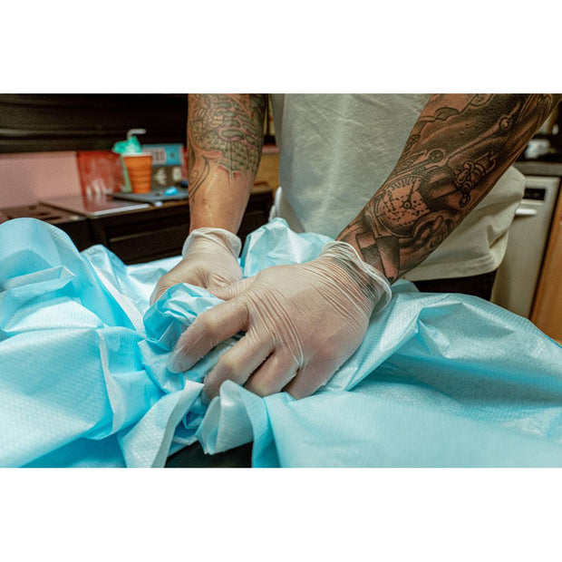Recovery Clear Disposable Vinyl Gloves