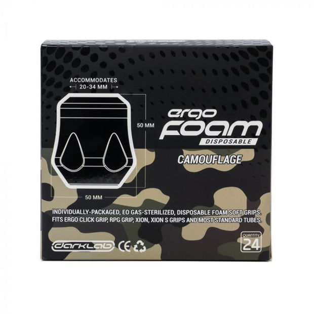 FK Irons Ergo Disposable Foam Grip Covers - Camo