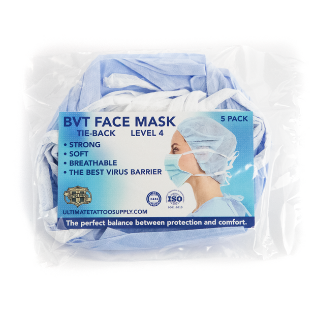 Phoenix Blue Disposable Face Masks - Level 4 - Pack of 5