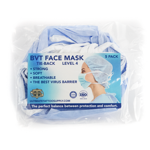Phoenix Blue Disposable Face Masks - Level 4 - Pack of 100