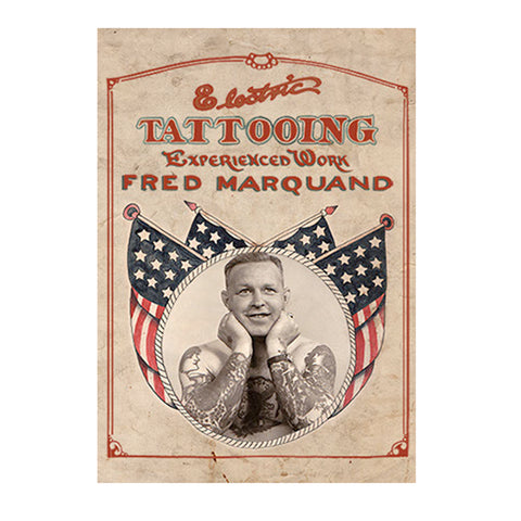 Electric Tattooing, Experienced Work: Fred Marquand