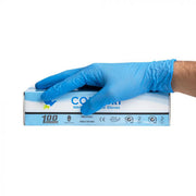 Comfort Blue Disposable Nitrile Gloves - 3.5gm - 100/bx