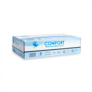 Comfort Black Disposable Nitrile Gloves - 4.8gm - 100/bx