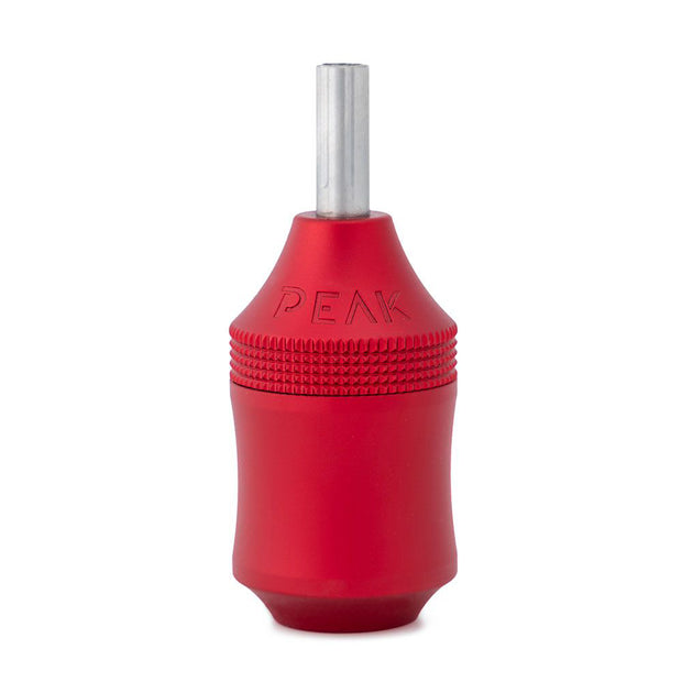 Peak Trona Aluminum Adjustable Cartridge Grip - Red - 34mm