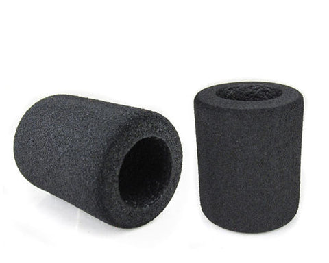 "Memory Foam Grip Cover - Fits 1"" Grips - Black"