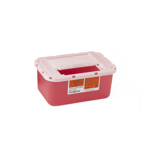 1 Gallon Sharps Container - Red