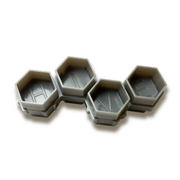 Soldier Bee Grey Hive Caps