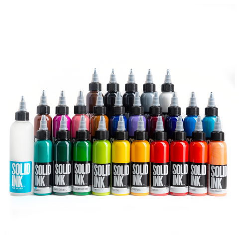 Solid Ink - 25 Color Fundamental Set 1oz Bottles