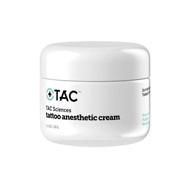 TAC Tattoo Anesthetic Cream - 1oz. Jar